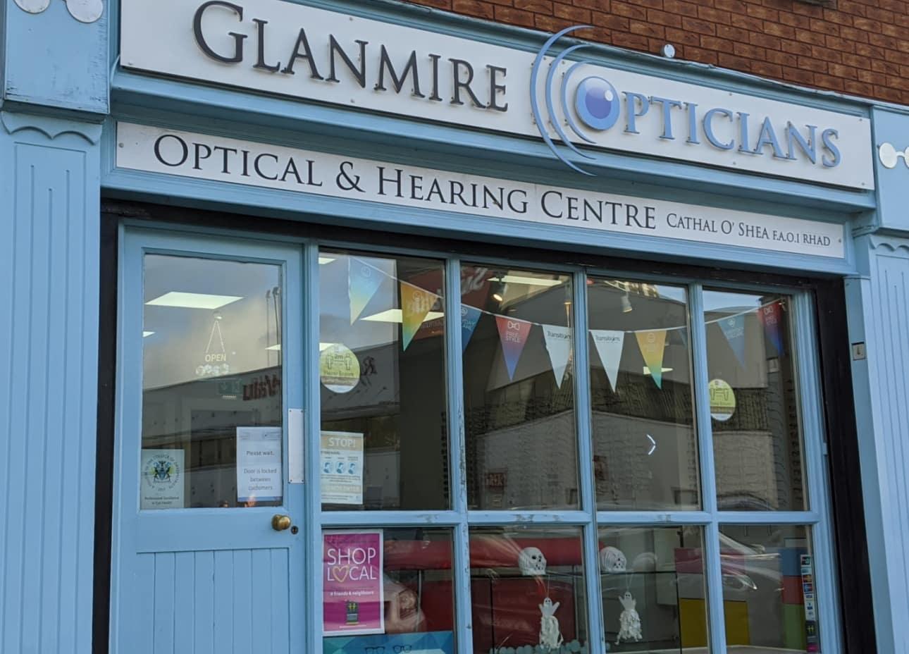 Glanmire Opticians Cork Shop